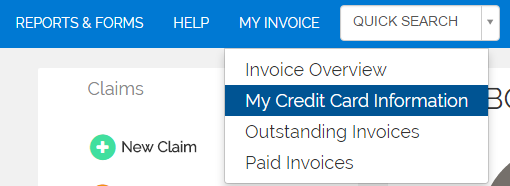 Adding payment info to MDBilling.ca